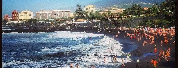 Playa Jardín is one of Tenerife.