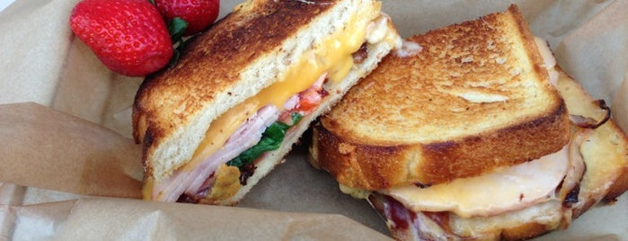 The American Grilled Cheese Kitchen is one of SF reccomends.