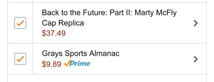 Back to the Future Day is one of Listpocalypse.