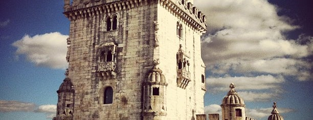 Torre de Belém is one of Lisbon.