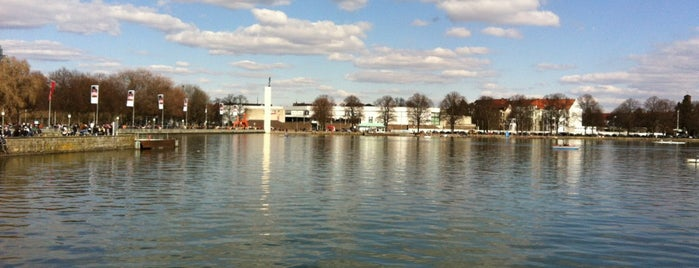 Maschsee is one of Hannover.