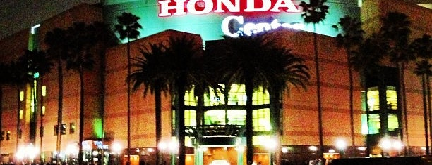 Honda Center is one of NHL Hockey Arenas.
