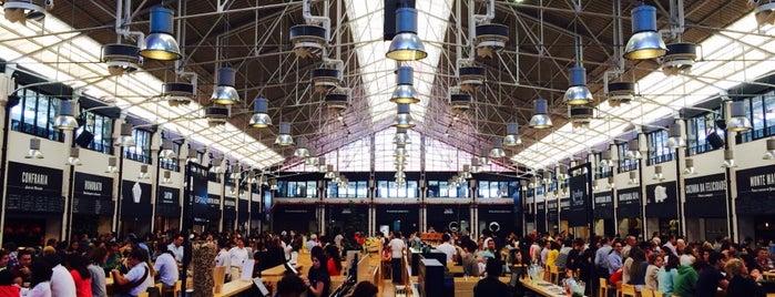 Mercado da Ribeira is one of Lisbon city guide.