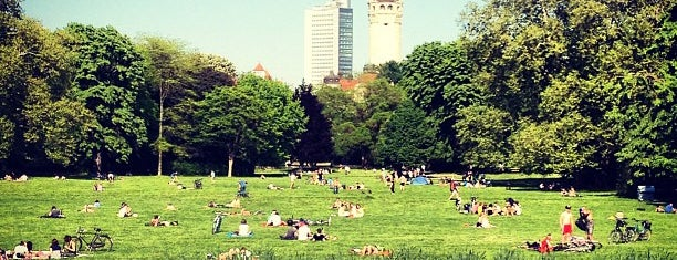 Johannapark is one of Leipzig TOP 99.