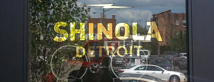 Shinola Store Detroit is one of Detroit Monday.