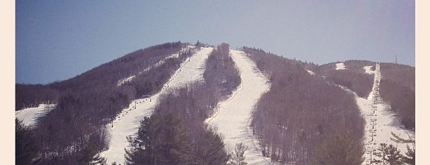Mount Sunapee is one of My favorites for Ski Areas.