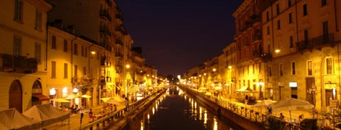 Navigli is one of milano.