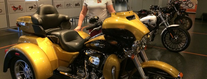 Harley-Davidson Vehicle Operations is one of Factory Tours.