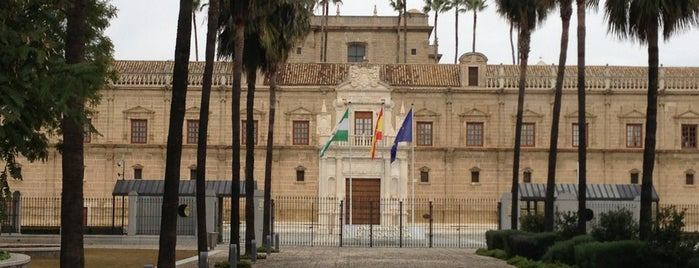 Parliament of Andalusia is one of Cosas que ver en Sevilla.