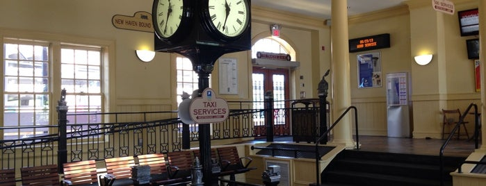 Metro North - South Norwalk Train Station is one of Places I Should Visit One Day.