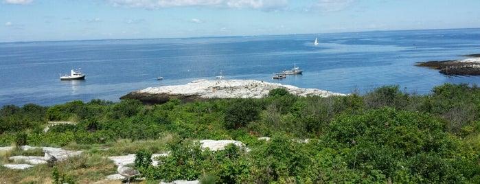 Appledore Island Shoals Marine Lab is one of UNH Landmarks.
