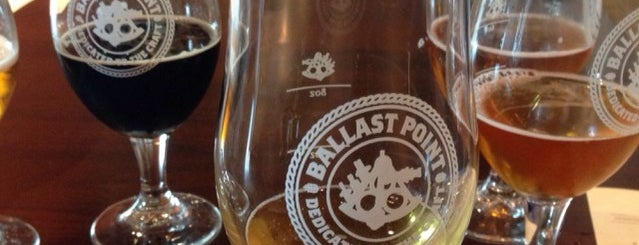 Ballast Point Brewing & Spirits is one of SD Breweries.
