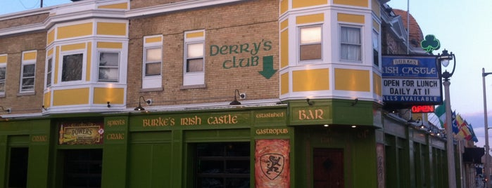 Burke's Irish castle is one of Grab a Bite NOW food reviews.