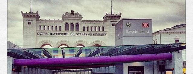 S Leipzig Bayerischer Bahnhof is one of Leipzig.