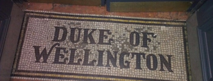 The Duke of Wellington is one of Things to do in Hackney.