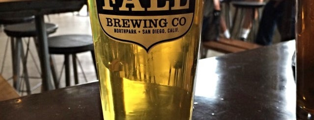 Fall Brewing Co. is one of SD Breweries.