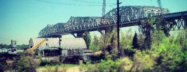Huey P. Long Bridge is one of NOLA.