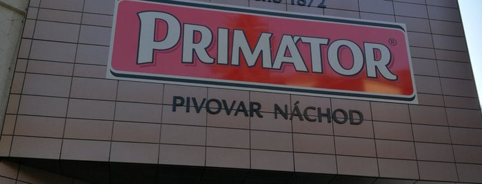 Pivovar Náchod is one of Pivovary ČR - Czech Breweries.