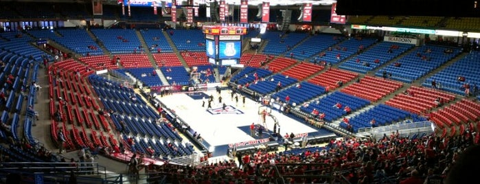 McKale Center is one of College Basketball Venues.