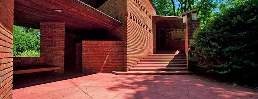 Frank Lloyd Wright Palmer House is one of Detroit by Manoogian.