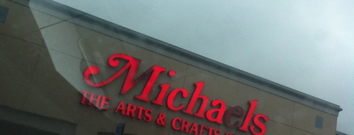 Michaels is one of just a list of places.