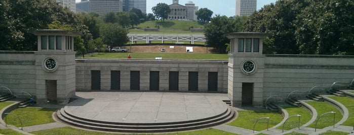 Bicentennial Mall State Park is one of My Nashville Favorites.