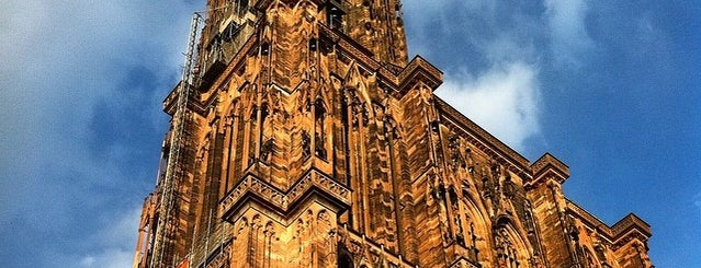 Cathedral of Our Lady of Strasbourg is one of Alsace.