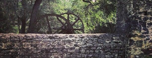 Yulee Sugar Mill Ruins Historic State Park is one of Spring Break 2012.