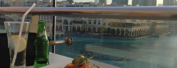 Joe's Cafe is one of Dubai eats.