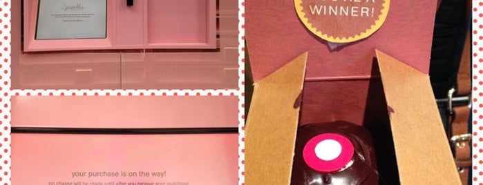 Sprinkles Cupcake ATM is one of NYC Manhattan 14th-23rd Sts.
