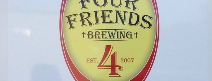 Four Friends Brewing is one of NC Breweries.