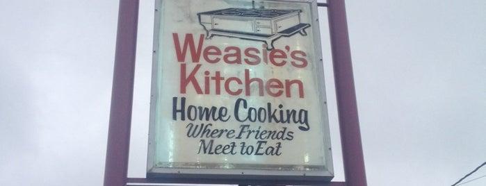 Weasie's Kitchen is one of Food.