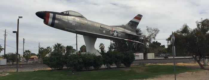 F-86D Fighter Jet Display is one of PHX Parks in The Valley.