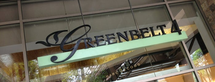Greenbelt 4 is one of Must-visit Malls in Quezon City.