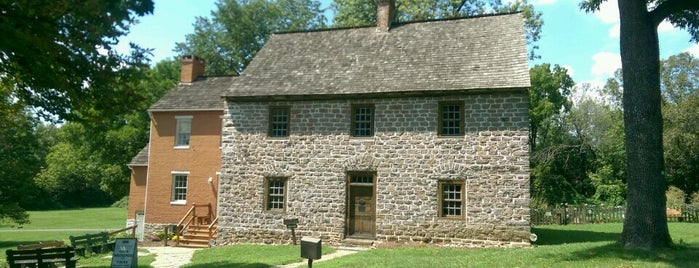 Schifferstadt Architectural Museum is one of Colonial Frederick Self Guided Tour.