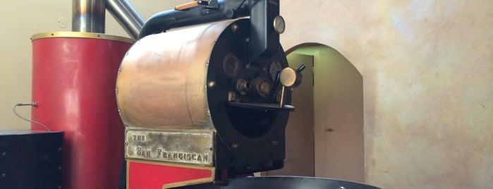 Coffee Roastery is one of San Francisco Caffeine Crawl.