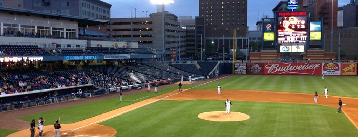 Fifth Third Field is one of The 15 Best Places for Desserts in Toledo.