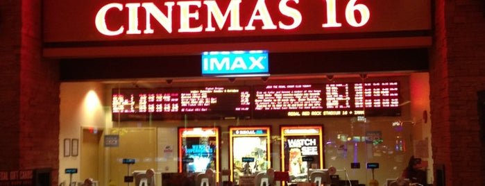 Regal Cinemas Red Rock 16 & IMAX is one of My Favorite Places.