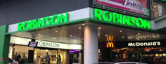 Robinson is one of Bangkok.