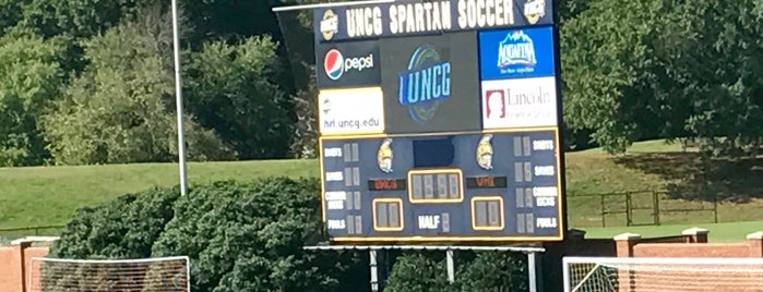 UNCG Soccer Stadium is one of Sports Venues I've Worked At.