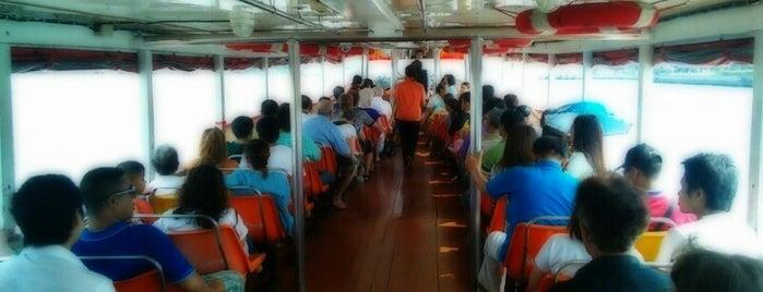 Chao Phraya Express Boat is one of В дорогу 3.