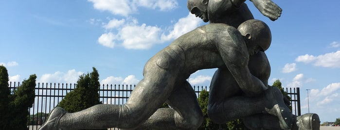 Tackle by Joseph Brown is one of Public Art in Philadelphia (Volume 3).