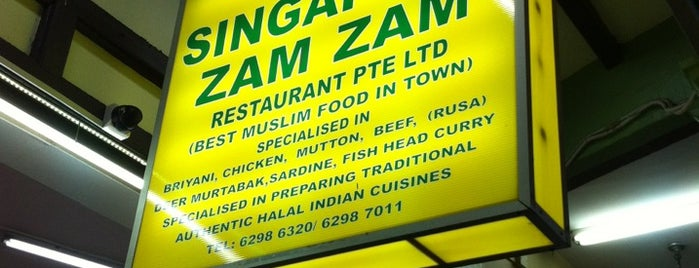 Singapore Zam Zam Restaurant is one of Awesome Food Places All Over.
