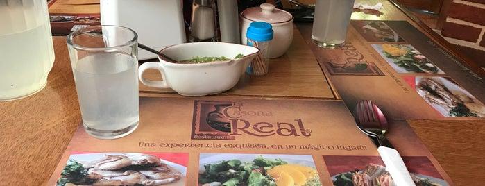 Restaurante La Casona Real is one of Sitios 2016.