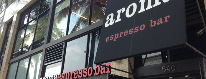 Aroma Espresso Bar is one of Miami ☀️🌊🚤.