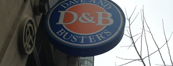 Dave & Buster's is one of favorites.