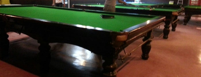 G-Club Snooker Center is one of Café | Penang.
