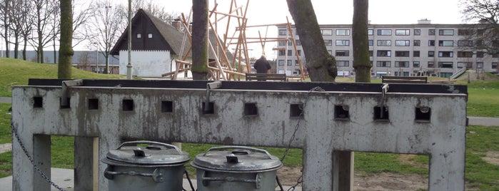 Kielpark is one of Antwerpse parken met BBQ.
