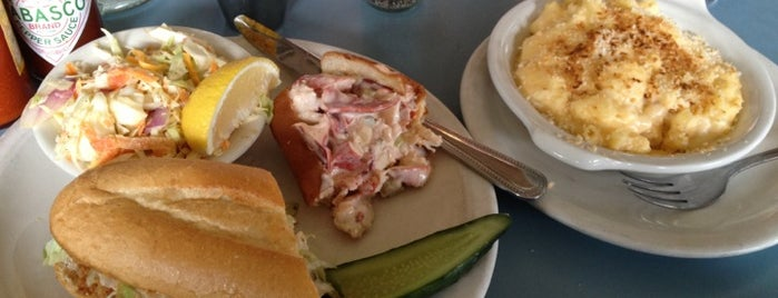 Steuben's is one of Ultimate Summertime Lobster Rolls.