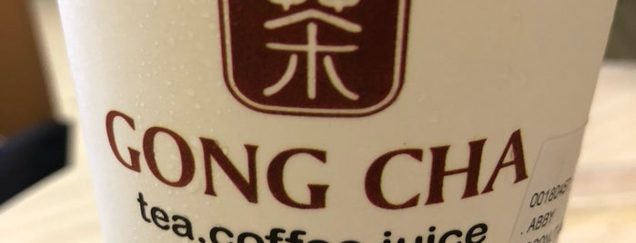 Gong Cha is one of Tea Shops ♥.